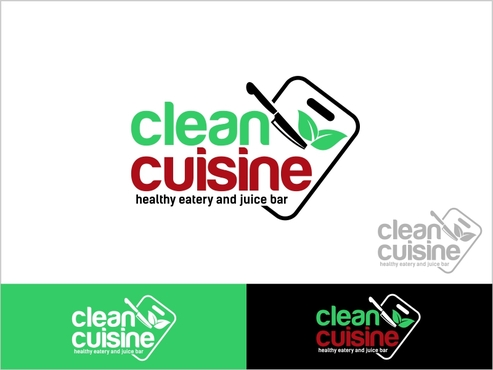 clean cuisine in a kitchen environment /kitchen untensils A Logo, Monogram, or Icon  Draft # 104 by thebullet