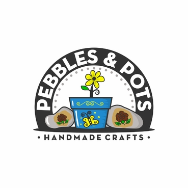 Pebbles & Pots A Logo, Monogram, or Icon  Draft # 78 by SeranggaOtak