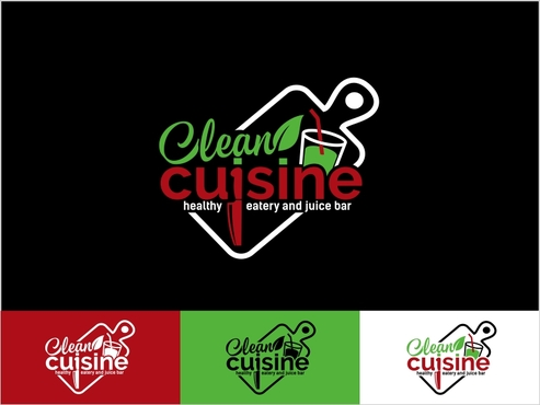 clean cuisine in a kitchen environment /kitchen untensils A Logo, Monogram, or Icon  Draft # 107 by thebullet
