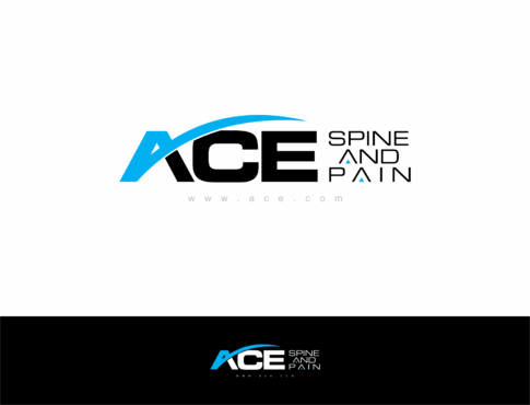 ACE spine and pain  A Logo, Monogram, or Icon  Draft # 159 by HandsomeRomeo