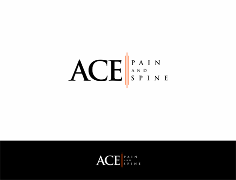 ACE spine and pain  A Logo, Monogram, or Icon  Draft # 161 by HandsomeRomeo