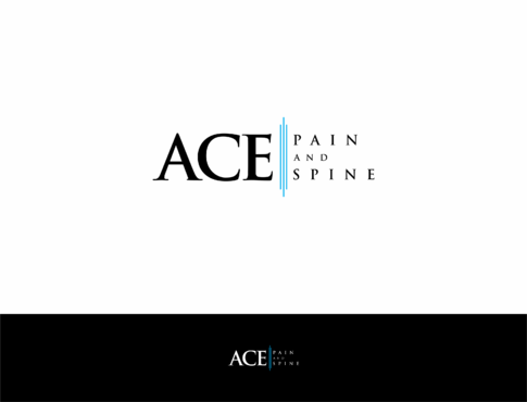 ACE spine and pain  A Logo, Monogram, or Icon  Draft # 162 by HandsomeRomeo