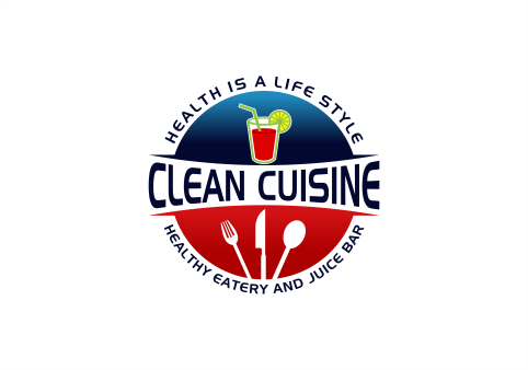 clean cuisine in a kitchen environment /kitchen untensils Logo Winning Design by Powerup