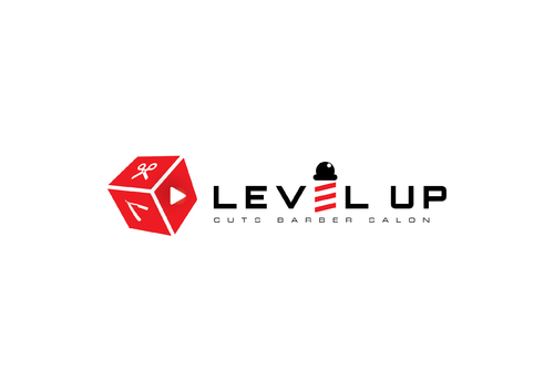 Level Up Cuts Barber Salon A Logo, Monogram, or Icon  Draft # 151 by husaeri