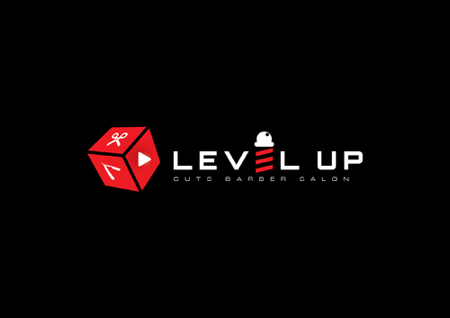 Level Up Cuts Barber Salon A Logo, Monogram, or Icon  Draft # 152 by husaeri
