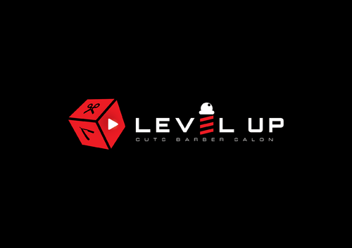 Level Up Cuts Barber Salon A Logo, Monogram, or Icon  Draft # 153 by husaeri