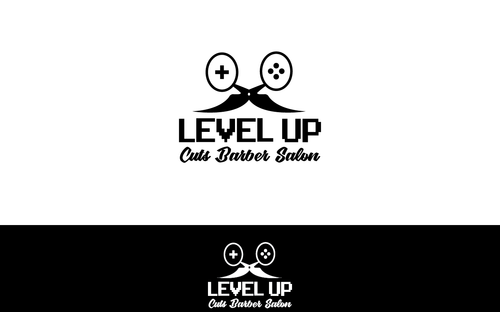 Level Up Cuts Barber Salon A Logo, Monogram, or Icon  Draft # 154 by koravi