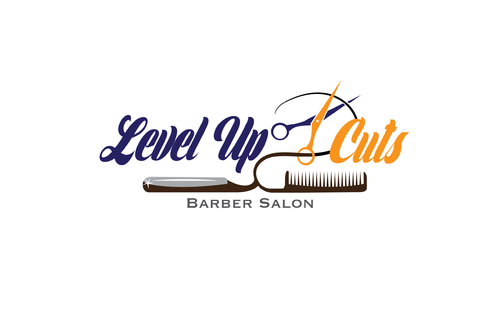 Level Up Cuts Barber Salon A Logo, Monogram, or Icon  Draft # 155 by koravi