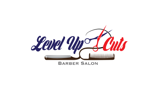 Level Up Cuts Barber Salon A Logo, Monogram, or Icon  Draft # 156 by koravi