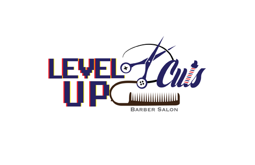Level Up Cuts Barber Salon A Logo, Monogram, or Icon  Draft # 161 by koravi
