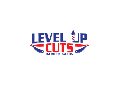 Level Up Cuts Barber Salon A Logo, Monogram, or Icon  Draft # 169 by zephyr