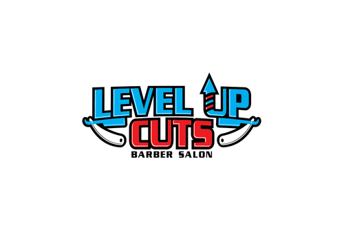 Level Up Cuts Barber Salon A Logo, Monogram, or Icon  Draft # 170 by zephyr