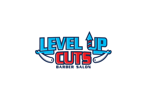 Level Up Cuts Barber Salon A Logo, Monogram, or Icon  Draft # 171 by zephyr