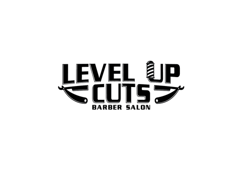 Level Up Cuts Barber Salon A Logo, Monogram, or Icon  Draft # 172 by zephyr