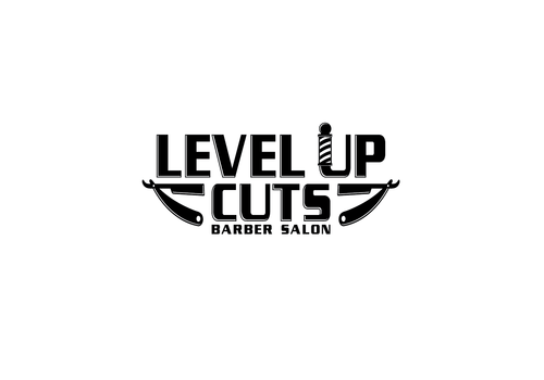 Level Up Cuts Barber Salon A Logo, Monogram, or Icon  Draft # 174 by zephyr