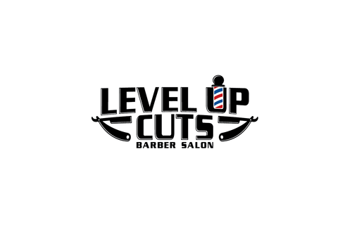 Level Up Cuts Barber Salon A Logo, Monogram, or Icon  Draft # 175 by zephyr