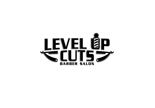 Level Up Cuts Barber Salon A Logo, Monogram, or Icon  Draft # 179 by zephyr