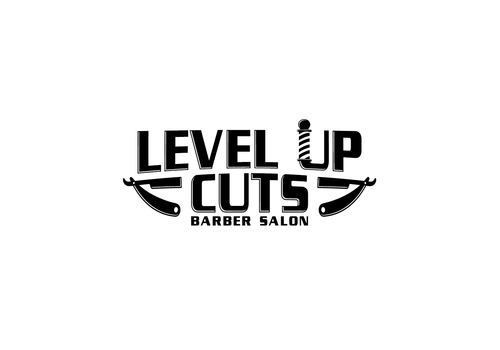 Level Up Cuts Barber Salon A Logo, Monogram, or Icon  Draft # 180 by zephyr
