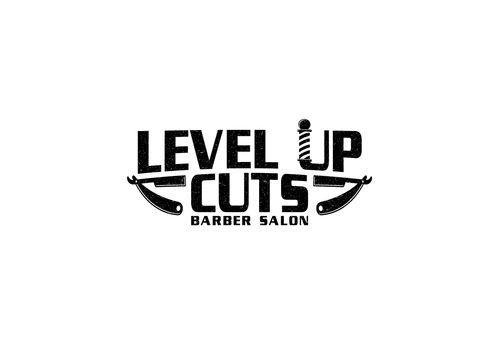 Level Up Cuts Barber Salon A Logo, Monogram, or Icon  Draft # 181 by zephyr