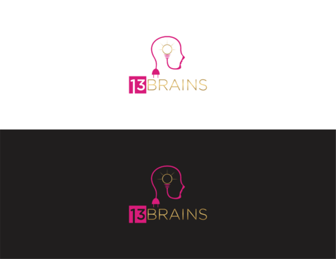 13Brains A Logo, Monogram, or Icon  Draft # 16 by irmawan