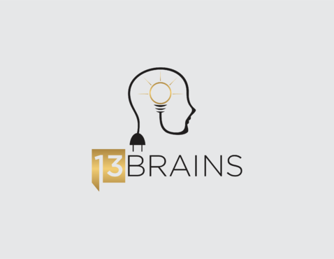 13Brains A Logo, Monogram, or Icon  Draft # 17 by irmawan