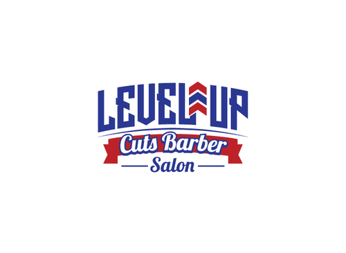 Level Up Cuts Barber Salon A Logo, Monogram, or Icon  Draft # 187 by logobuilders