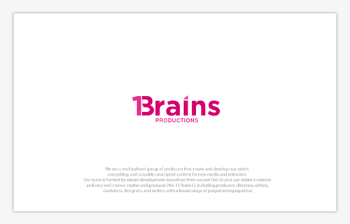 13Brains A Logo, Monogram, or Icon  Draft # 18 by B4BEST