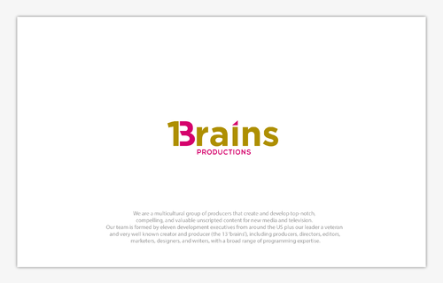 13Brains A Logo, Monogram, or Icon  Draft # 19 by B4BEST