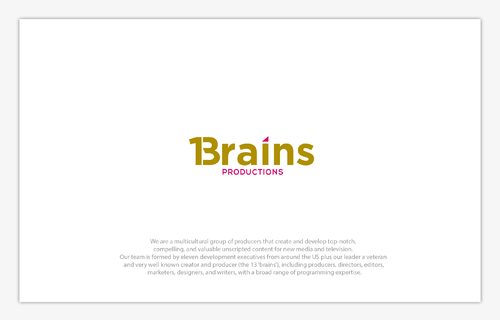 13Brains A Logo, Monogram, or Icon  Draft # 20 by B4BEST