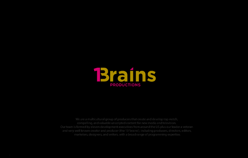 13Brains A Logo, Monogram, or Icon  Draft # 21 by B4BEST
