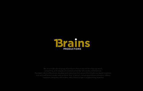 13Brains A Logo, Monogram, or Icon  Draft # 22 by B4BEST