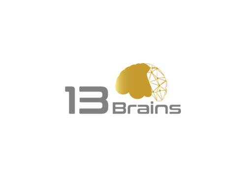 13Brains A Logo, Monogram, or Icon  Draft # 40 by FauzanZainal
