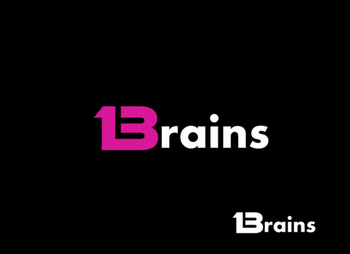 13Brains A Logo, Monogram, or Icon  Draft # 54 by Miroslav