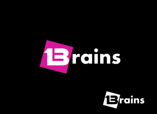 13Brains A Logo, Monogram, or Icon  Draft # 55 by Miroslav