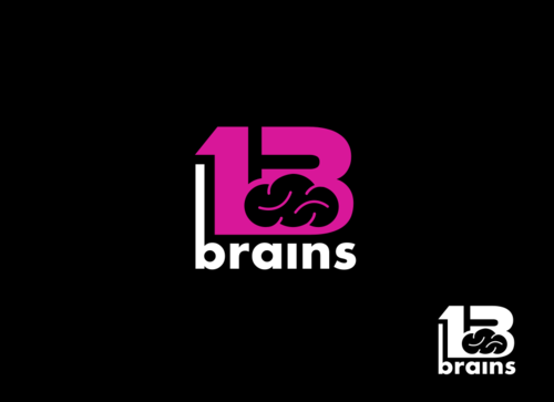 13Brains A Logo, Monogram, or Icon  Draft # 82 by Miroslav