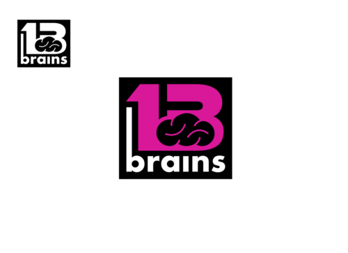 13Brains A Logo, Monogram, or Icon  Draft # 83 by Miroslav