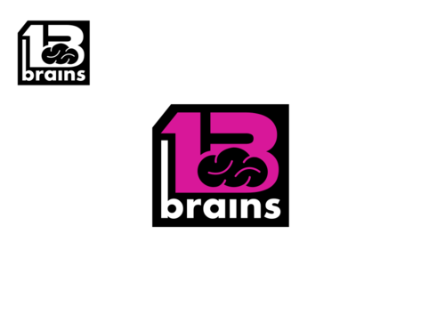 13Brains A Logo, Monogram, or Icon  Draft # 84 by Miroslav