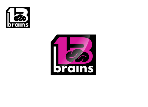 13Brains A Logo, Monogram, or Icon  Draft # 85 by Miroslav