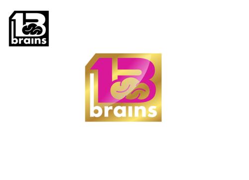 13Brains A Logo, Monogram, or Icon  Draft # 86 by Miroslav
