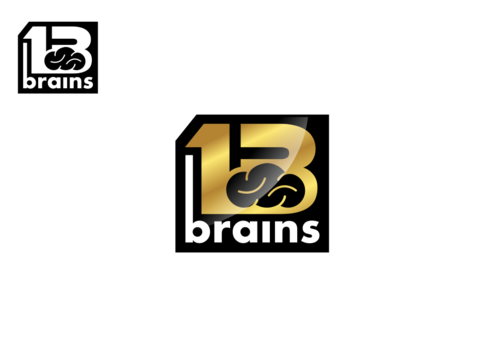 13Brains A Logo, Monogram, or Icon  Draft # 87 by Miroslav
