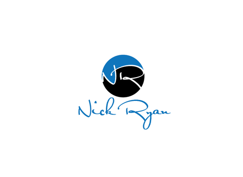 Nick Ryan or NR Logo Winning Design by muhammadrashid