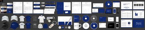 Design by einsanimation For Business card and stationary for a Billing company