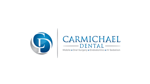 Carmichael Dental  Logo Winning Design by SahasraDesigns