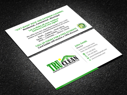 same as uploaded business card