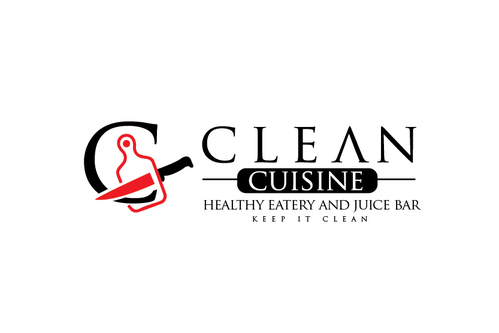 clean cuisine healthy eatery and juice bar  A Logo, Monogram, or Icon  Draft # 3 by TheTanveer
