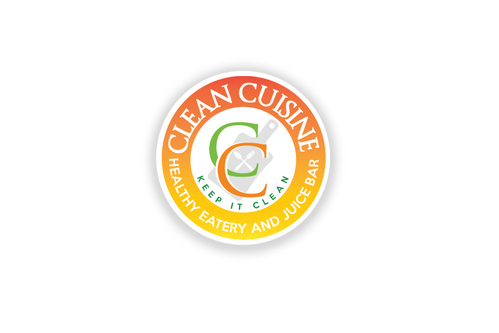 clean cuisine healthy eatery and juice bar  A Logo, Monogram, or Icon  Draft # 5 by TheTanveer