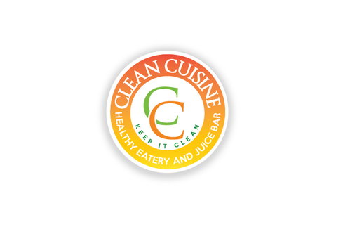 clean cuisine healthy eatery and juice bar  A Logo, Monogram, or Icon  Draft # 6 by TheTanveer