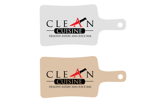 clean cuisine healthy eatery and juice bar  A Logo, Monogram, or Icon  Draft # 9 by TheTanveer