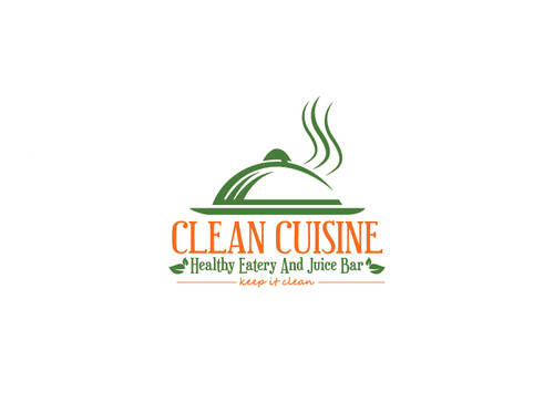 clean cuisine healthy eatery and juice bar  A Logo, Monogram, or Icon  Draft # 15 by xmanawaryx
