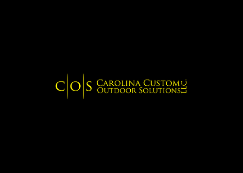 Carolina Custom Outdoor Solutions, LLC. A Logo, Monogram, or Icon  Draft # 28 by AstridDesign